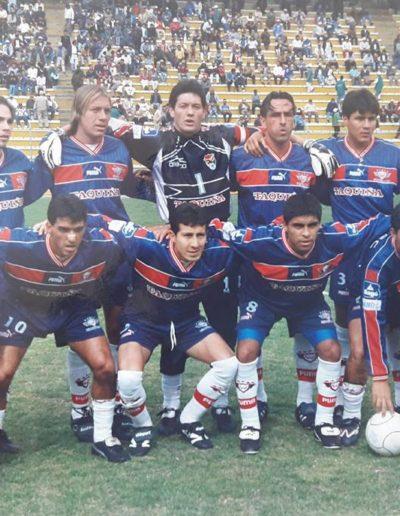 Equipo 2000 - Campeon de la Liga Boliviana