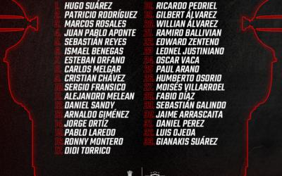LISTA DE BUENA FE CONMEBOL LIBERTADORES 2020