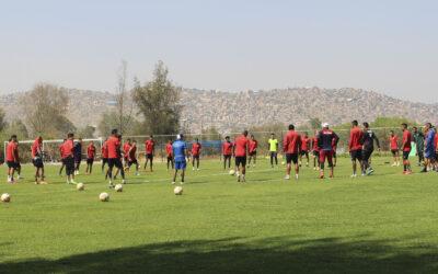 Viernes de Trabajo Físico y Fútbol